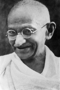 01/00/1998. File pictures of Mahatma Gandhi